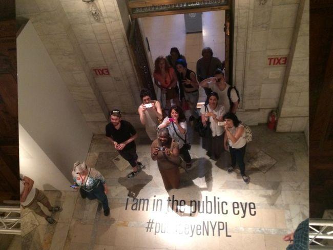 Public Eye NYPL Eyeem Meetup Nyc