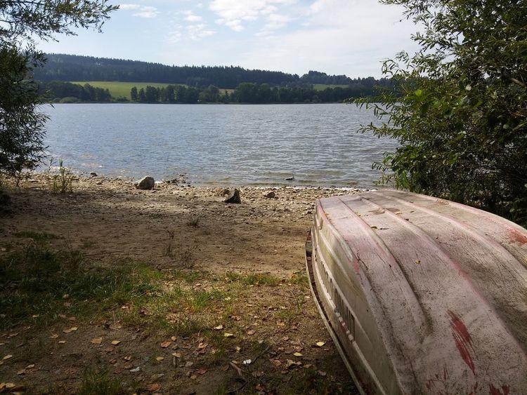 Lipno Moldau Water Lake Nature Outdoors Lakeside Czech Republic