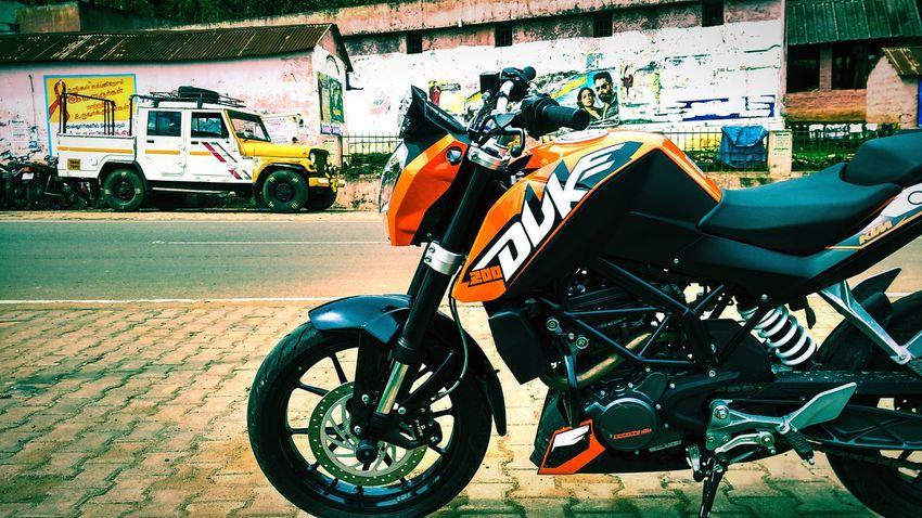RAvjDuker Ktm KTM Duke200 Beastmode Beauty Beast EyeEmNewHere