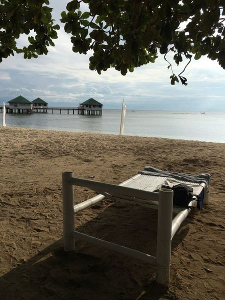 Bliss Spot Done That. Sun Sea Sand The Philippines Bamboo Beach Bed Batangas Calatagan Relaxing By The Sea