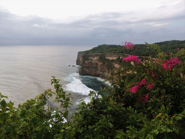 "Pura Luhur Uluwatu, Uluwatu's hindu temple, is one of the most interesting sights of the area. The place hosts cheeky monkeys and presentations of Kecak, the balinese ""fire dance"". June 2016. Bali Bali, Indonesia Hindu Hinduism INDONESIA Nature Nikon Ocean View Travel Photography View Balinese Beauty In Nature Cliff Culture Explore Gabiandbali Gabiandindonesia Horizon Over Water Indonesia Photography  Inspiring Southeastasia Traditional Travel Destinations"