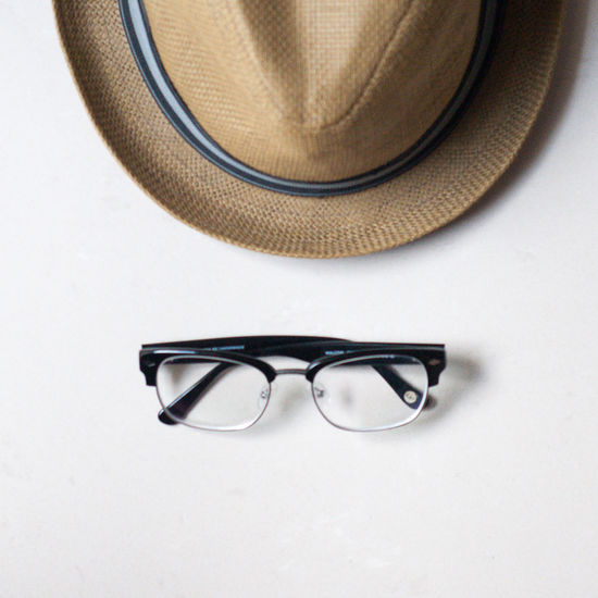 Glasses And Fedora