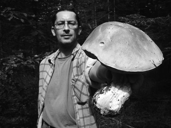 Bnw_friday_eyeemchallenge Boletus Edulis One Man Only One Person Outdoors Adult Day Forest Beauty In Nature Black & White Black And White Black And White Collection  The Week On EyeEm Travel Photography Bnw_collection Bnw Photography Nature Collection Nature Photography Rural Scene Bauty In Nature Bnw Black And White Collection  People Mushroom Nature Mix Yourself A Good Time Perspectives On Nature Be. Ready. Black And White Friday