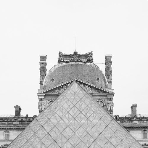 Louvre museum Architecture Arcitecture B&w Black And White Building Exterior Built Structure Dome Famous Place Fuji Fujifilm Place Of Worship Religion X100 X100S Xseries