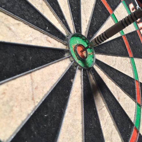 Bullseye. Darts Darts Bar Bullseye Close-up