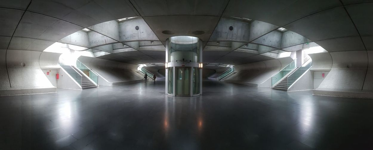 Indoors  Architecture No People Day Brutalism Brutal_architecture Brutalistarchitecture Concrete Futuristic Space Age