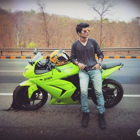 Ninja Love to ridePeace of mindShe loves meNh8 Surat