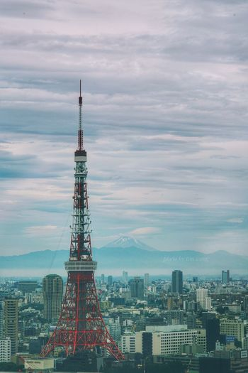 Architecture Tower Built Structure Tall - High Cloud - Sky Building Exterior Sky Cityscape Travel Destinations Skyscraper Tall City No People Outdoors Day Water Sony Tim Wong Japan