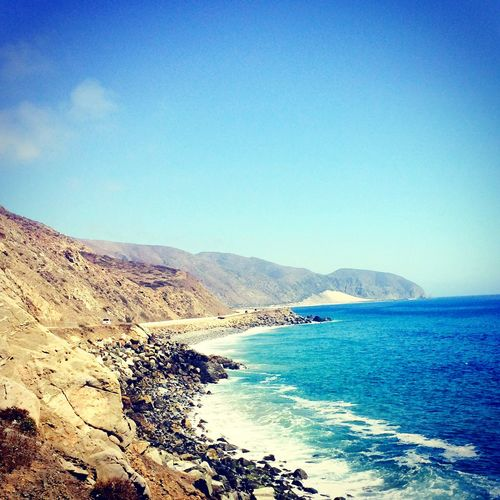 Malibu California On The Road Sea Waves, Ocean, Nature Capture The Moment MyPhotography Amazing View California Coast Magic Moments Paradise Enjoying The View BestTripEver Beachphotography Nature_collection Magnifique