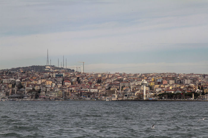 Istanbul Turkey Bhosporus City Cityscape Day No People Outdoors Residential Building River Sea Sky Water Waterfront