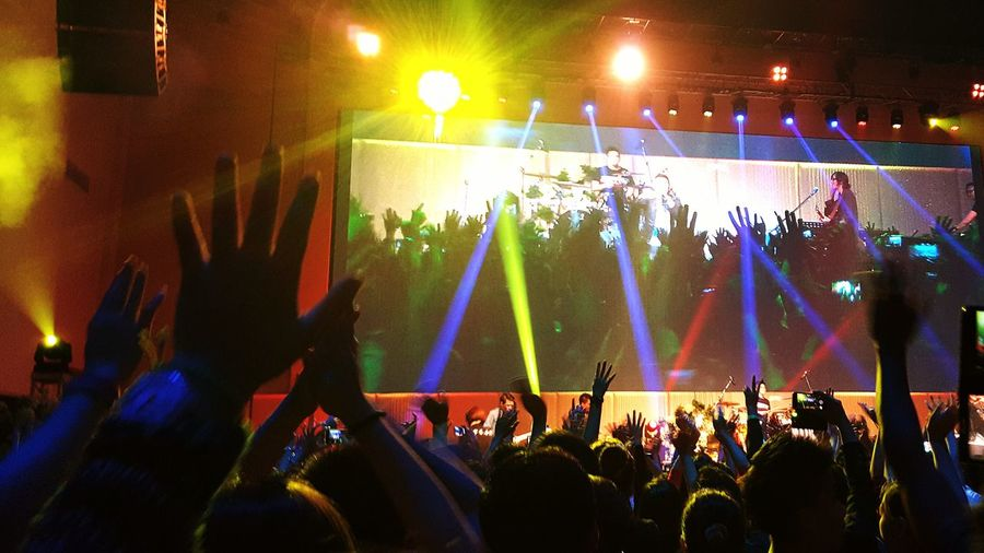 That night we praise and worship.. Praising The Lord Amazing Concert Praise And Worship