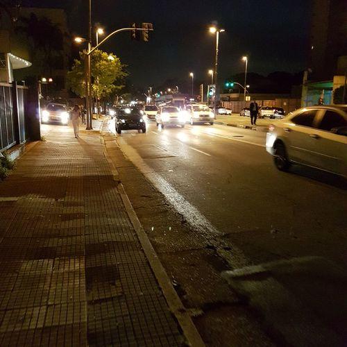 Noite em Sp Street Light Car Road Illuminated City Life Motion On The Move Lighting Equipment Vehicle Outdoors First Eyeem Photo