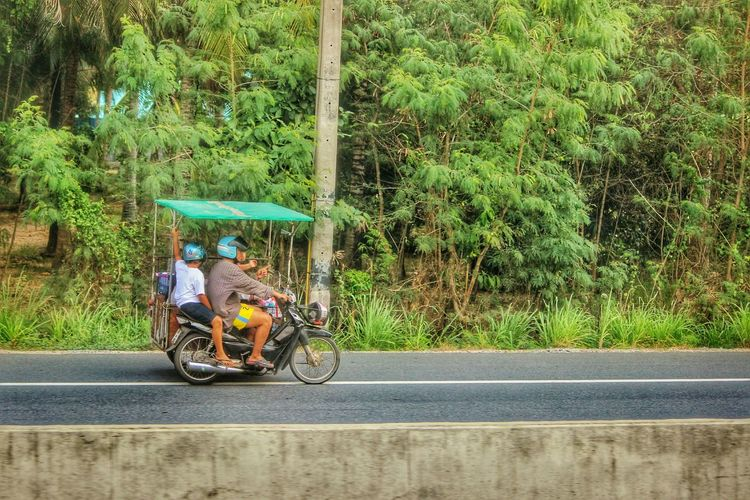 Spotted In Thailand Two Wheeler Family Together Journey Road Trip Somewhere Near Krabi Showcase April Mobility In Mega Cities Going Remote