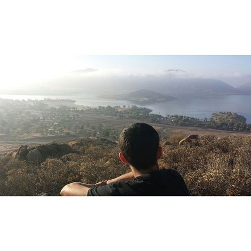 The view was just soo amazing ! ( ': Summercamp2014 LakePerris