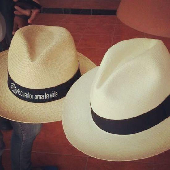 Sombrero de paja toquilla Hat Beautiful Patrimonio Unesco Manabi Ecuador ^_^