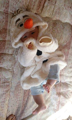 Baby ❤ Babyboy Baby Boy Love 景登 オラフ アナと雪の女王 Cute ディズニー Disney