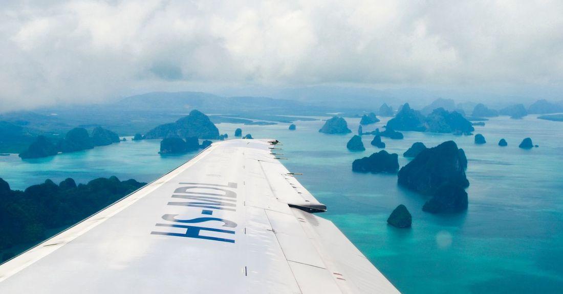 Andaman Andamanislands Andaman Sea Islands Flying On the way to Phuket
