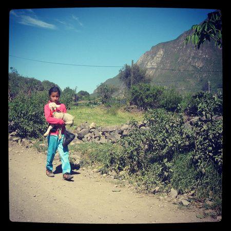 Ella ♥. Obrajillo Peru Traveling