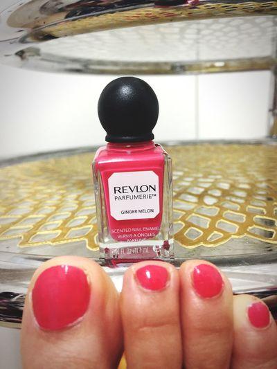 とってもいい香り Revlon Parfumerie Pink Ginger Melon Nails Scented Sweet♡