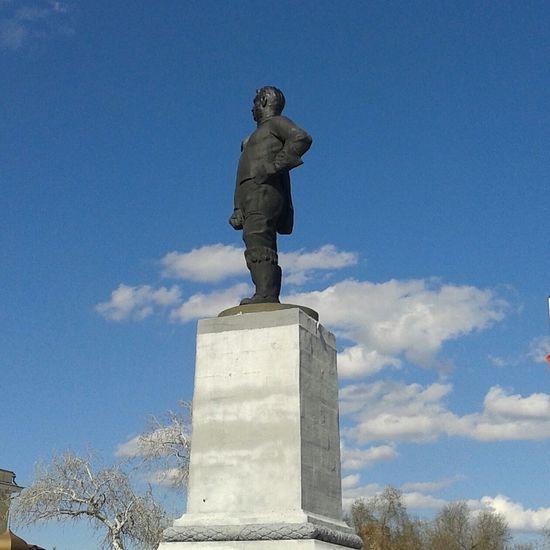 Оренбург памятник чкалов Orenburg