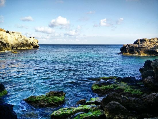 Malta Sea Seaview Scenery Shots Scene Rocks Calm Water Amazing Calm Sea Summer Views Amazing View Hike Outandabout Enjoying Life Beautiful Nature Summer Stressreliever Clearsky Yolo Found On The Roll Enjoying The View Enjoying The Sun Enjoying Nature