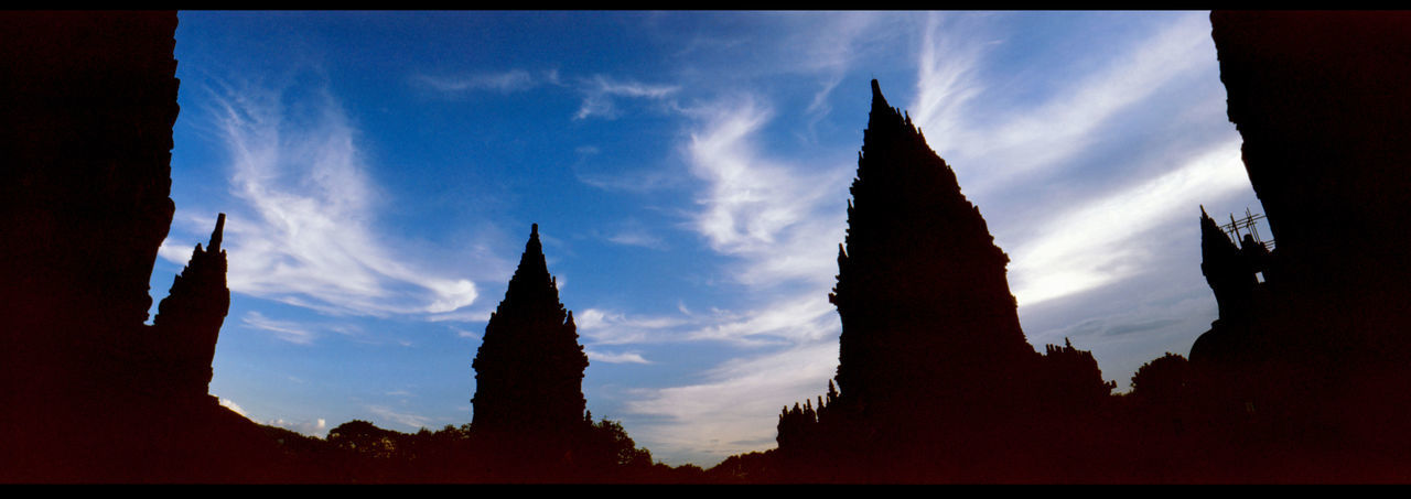 Prambanan Temple and sky Analogue Photography Architecture ASIA Building Faith Hindu Hindu Temple INDONESIA No People Panoramic Photography Prambanan Prambanan Temple PRAMBANAN TEMPLE RORO JONGGRANG Prambanan Temple, Yogyakarta Prambanan The Magnificent Religion Summer Temple Temple And Sky Temple Towers Travel Yogjakarta The Architect - 2017 EyeEm Awards