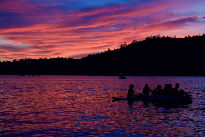 The Essence Of Summer Summer Friends Friendship Lake Lakefun Sunset OnTheWater Relaxing Love Oroville LakeOroville Dusk California Silhouettes Silhouettes Of People Silhouettesunset Young And Beautiful Young And Free Young Group Of People Groupoffriends Beautiful Skies