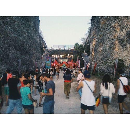 Dreamfields Festival Cultural Park gwk bali limestone edm rave party vsco vscocam vscoplace