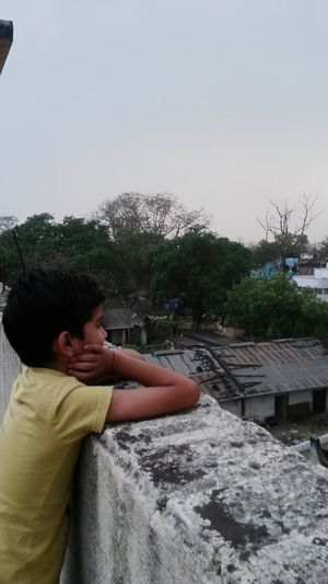 Childhood Boys Outdoors Scenery Day Sky Terrace Blowing Winds Childhoodmemories