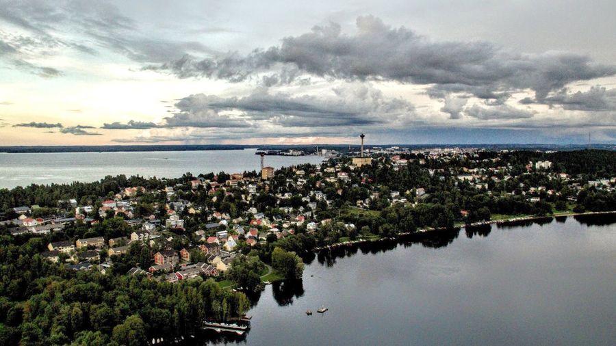 Pispala Tampere Suomi Finland Pyhäjärvi Näsijärvi Pispala Landscape Landscape Photography Nature Cityscapes Dronephotography Dji Lake The Great Outdoors - 2017 EyeEm Awards Lost In The Landscape