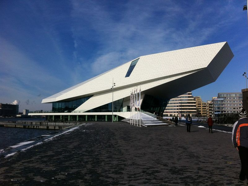 Amsterdam Eye Filmmuseum Amsterdam Architecture Building Exterior Built Structure City Day No People Outdoors Sky