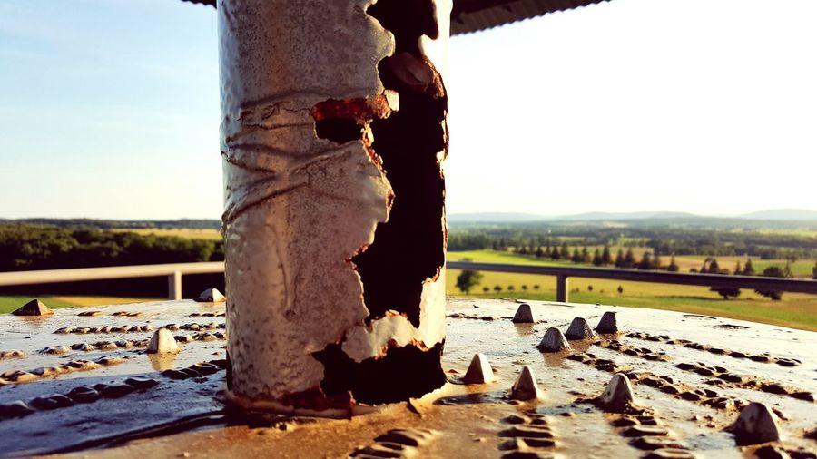 Rust on the battlefield.