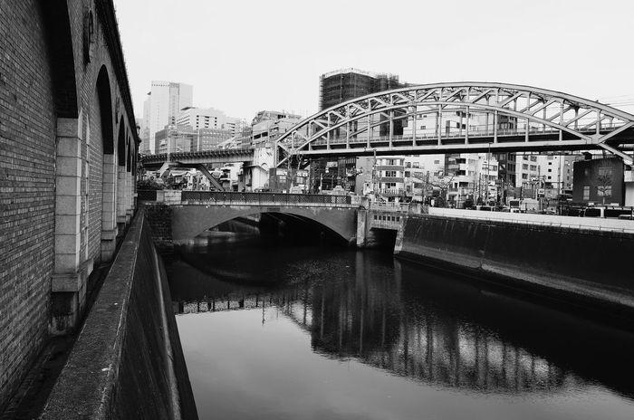 kanda Tokyo Japan Sky Bridge - Man Made Structure Architecture Water Built Structure Outdoors City