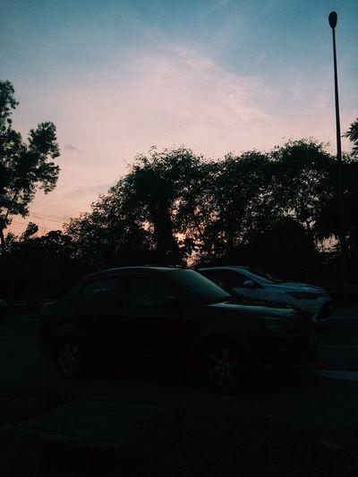 Sunset most