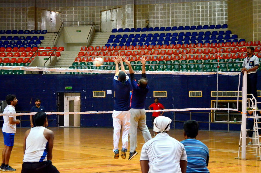 Alternative Fitness Vollyball Indoor Stadium Players Sport Fitness