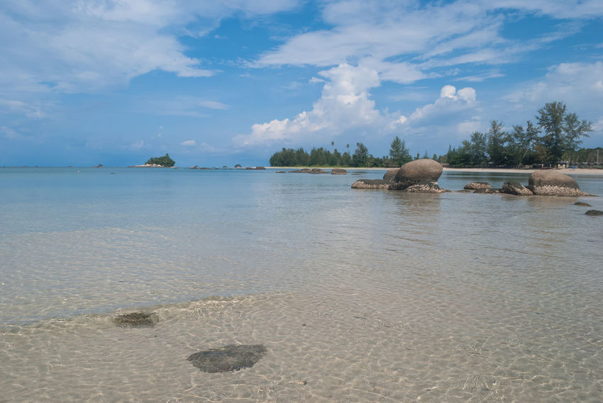 Let's vacation in Bintan island Beach Beauty In Nature Bintan  Bintan Island Bintanisland Blue Cloud Daylight Holiday Landscape Let's Vacation In Bintan Island Nature Rock Rock - Object Rock Formation Sea Sea And Sky Tranquil Scene Tranquility Travel Travel Destinations Trikorabeach Vacation Vacations