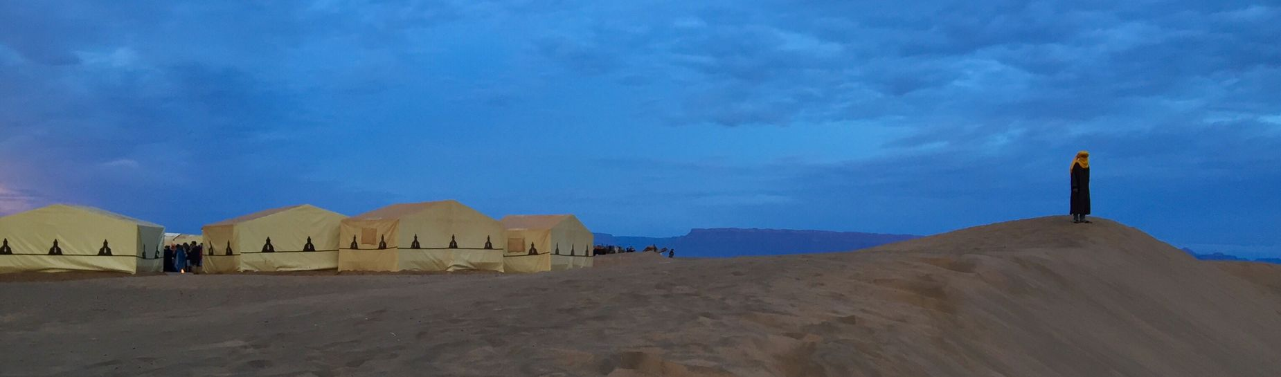 Sand Sand Dune Tuareg Berber  Sahara Desert Look-out Morocco Maghreb Man In The Desert NOMAD Yellow And Blue North Africa Dawn Desert Landscape Desert Sunrise The Week On EyeEm