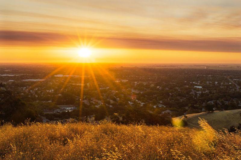 Sunrise in Vacaville, California Sunrise Golden Hour Gold Vacaville Vacaville Hills Vacavillecalifornia 43 Golden Moments Pena Adobe Hidden Gems  Sommergefühle