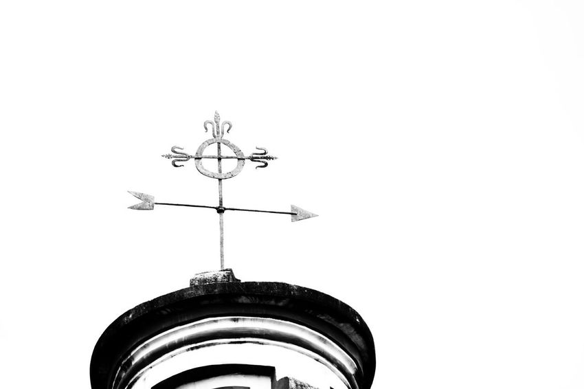 Weather Vane Architecture Clock Face