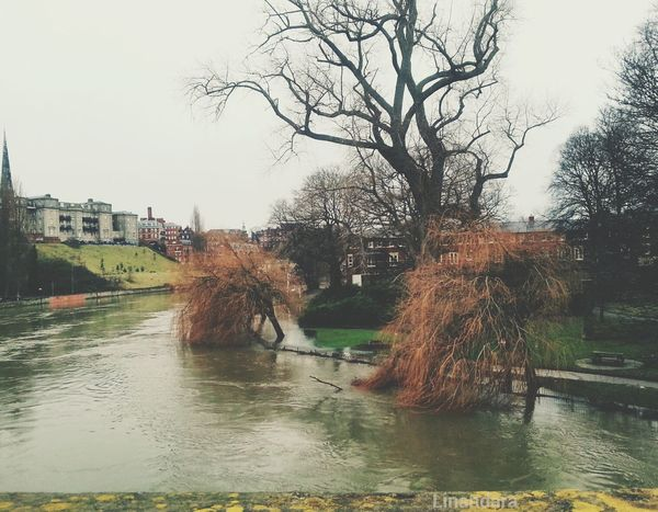 River Severn in Shrewsbury today... Flooding River
