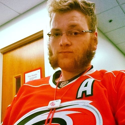 Hurricanes jersey (Letsgocanes ) with TheYakitori Bolotie to match. Can't wait to get out of this library and have a nice relaxing beer, followed by a nap.