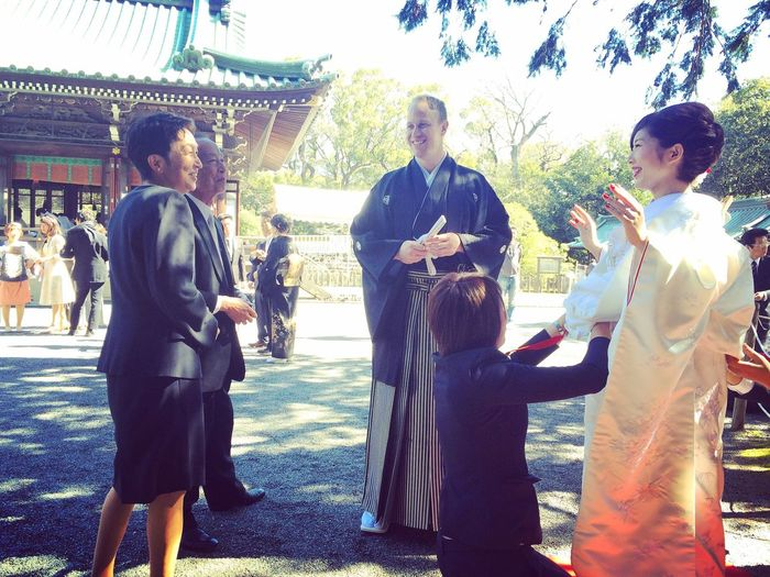 Japanese  Wedding Traditional Japanese Wife Kiwi International Marriage Mishima-taisha Beautiful Day HAPPIEST DAY Love Forever! Mix Yourself A Good Time