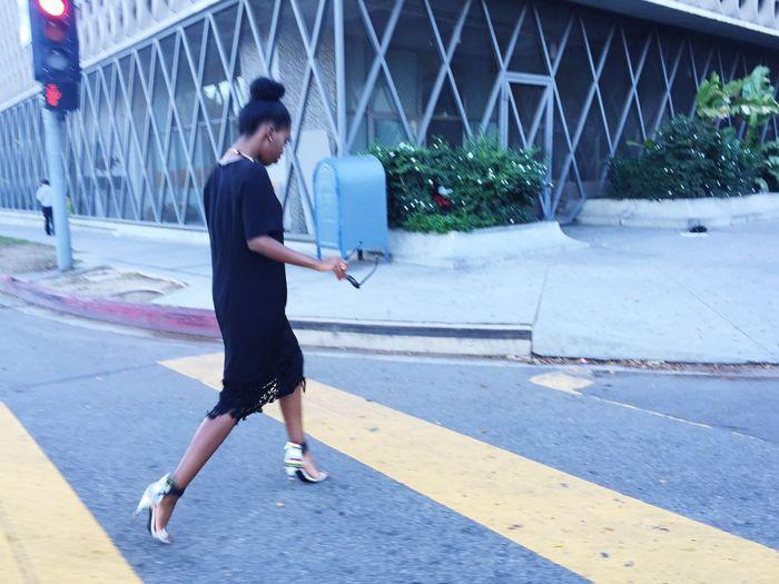Walking Around Street Fashion Streetphotography All Black Everything Streetwalker