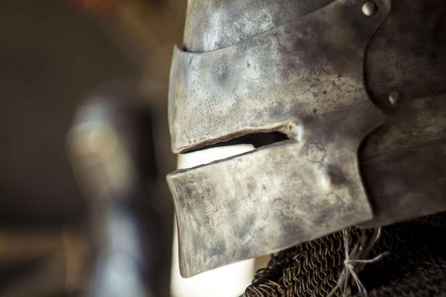 Belarus Castle Close-up Knight  Lida Metallic Old