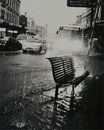 Un día de lluvia....