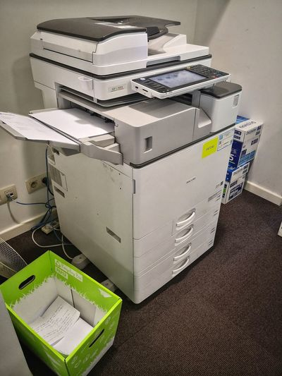 Workplace Printer Printing Office Office Supply Office Interior Printer Ink Filing Cabinet Stack Close-up Office Supply Mailbox