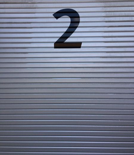 Number Pattern No People Communication Number Metal Day Sign Backgrounds Striped Textured  Corrugated Iron Full Frame