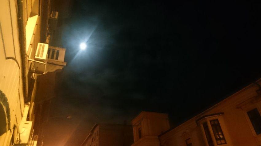 Good night :-) Moon Night Lights Night