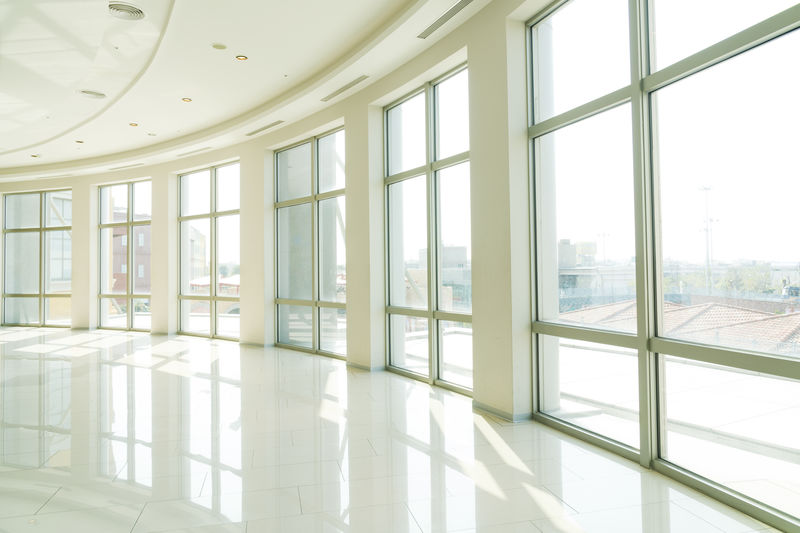 Absence Architectural Column Architecture Building Built Structure Ceiling Day Design Empty Flooring Glass - Material Indoors  Luxury Modern Nature No People Office Pattern Reflection Sunlight Tiled Floor Transparent Window