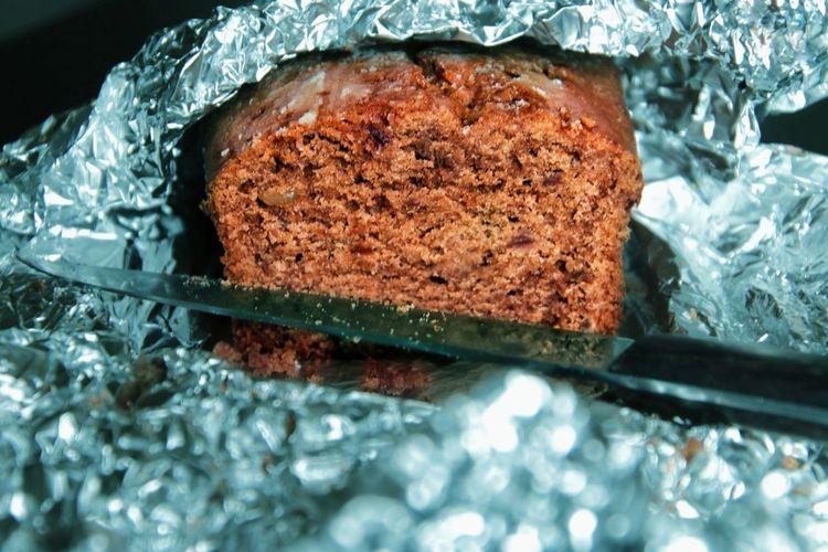 Close-up of chocolate cake